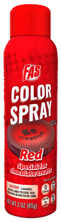 Red Food Color Chocolate Spray