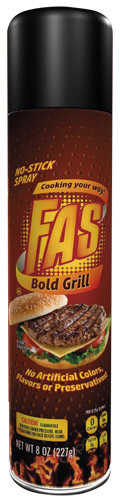 FAS Bold Grill No-Stick Spray