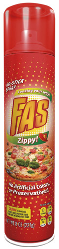 FAS Zippy! No-Stick Spray